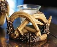 Manual Woodworkers and Weavers Antler Lodge Votive Holders, Set of 4