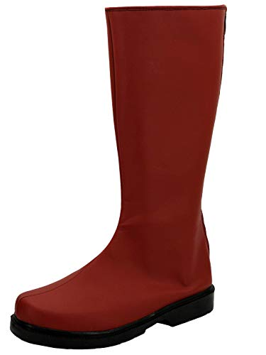 GOTEDDY Man women Cosplay Boots Halloween Red Shoes Costume Accessories (8 US Female)]()