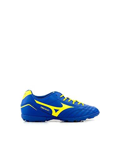 Mizuno Zapato de Fútbol Sport 2014 Neo Shin Astro Color Azul y Amarillo Blu Giallo
