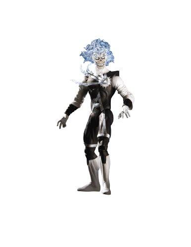 DC Comics Blackest Night Series 4: Black Lantern Firestorm Action Figure