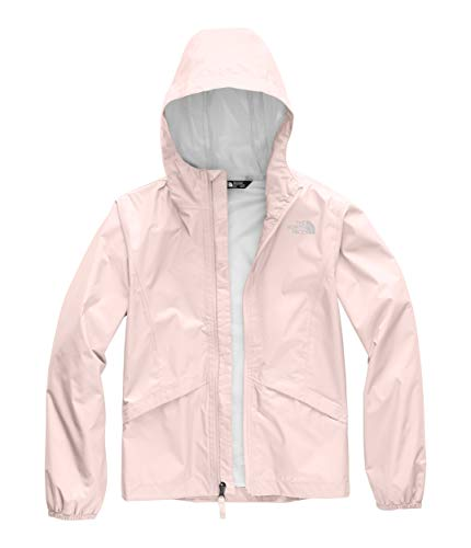 The North Face Kids Girl's Zipline Rain Jacket (Little Kids/Big Kids) Pink Salt X-Small ()