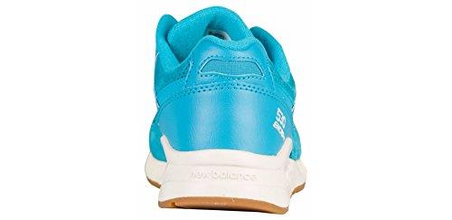 New Balance Womens W530 Classic Running Sneaker Di Moda In Teal Suede Di Suino