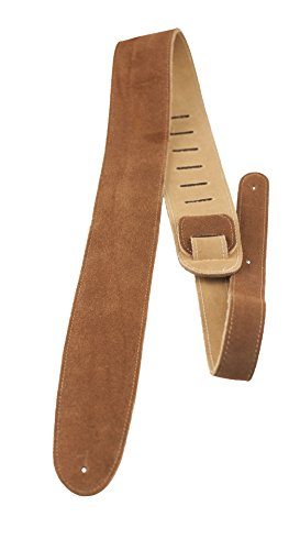 Perris Leathers BBS-200 2.5-Inch Soft Suede Adjustable Guitar Strap with Premium Backing