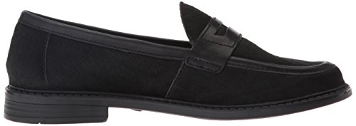 Cole Haan Campus Pinch Penny Loafer Black Hair Calf/Black Leather