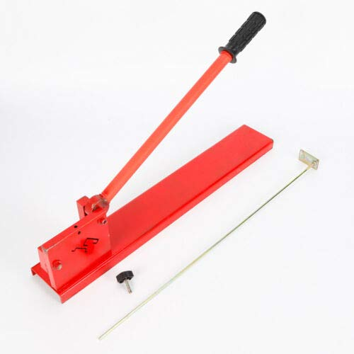 Din Rail Cutter Tool, Manual Guide Cutting Machine Professional Cutter Tools DIY Two Groove for Rail, Steel Rail, G Type Rail by MONIPA (Image #3)