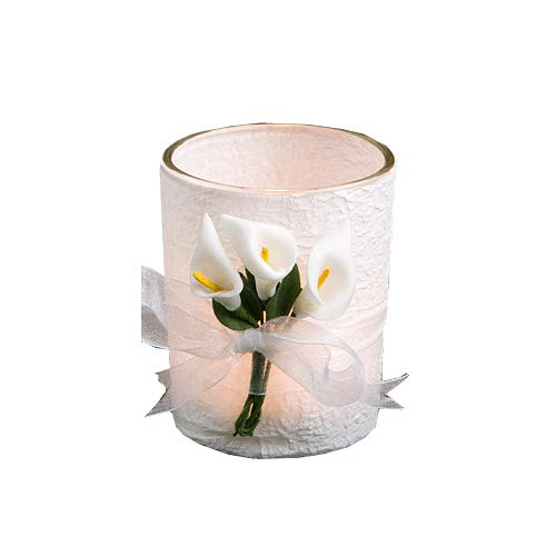 Candle Calla Stunning Lily - Fashioncraft 12 Stunning Calla Lily Design Candle Favors Wedding Anniversary Bridal Shower Baby Shower Birthday Party Souvenir Favors