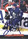 Sergei Berezin Toronto Maple Leafs 2000 Paciffic Autographed/Hand Signed Trading Card.