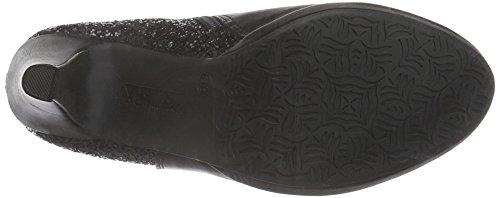 XTI 30539, Zapatillas de Estar por Casa para Mujer Negro
