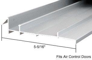 CRL Aluminum OEM Replacement Threshold for Air Control Doors; 5-5/16'' x 6 ft Long