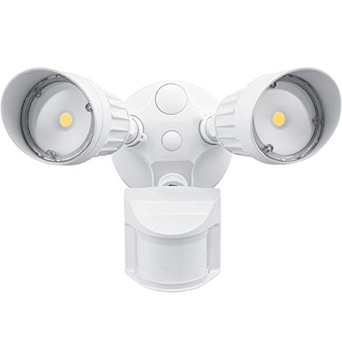LEONLITE 2 Head LED Outdoor Security Floodlight Motion Sensor