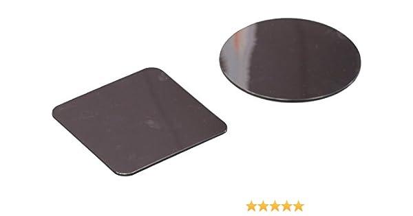 Henbea- Espejo Infantil acrílico Cara círculos y Cuadrados, 9,5 cms diámetro (762): Amazon.es: Juguetes y juegos