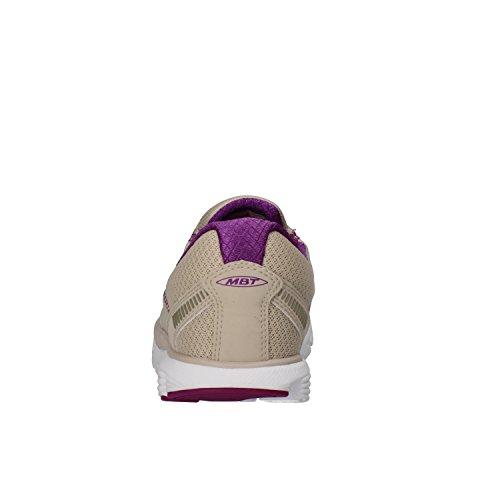 39 UK Nubuck Womens Textile Beige EU Sneakers MBT Leather Oaqtx4gg