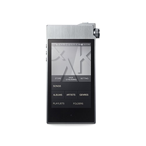 Astell&Kern AK100 II Brushed Aluminium Portable High Fidelity Sound System - Smoky Blue (Logic Pro Amp)