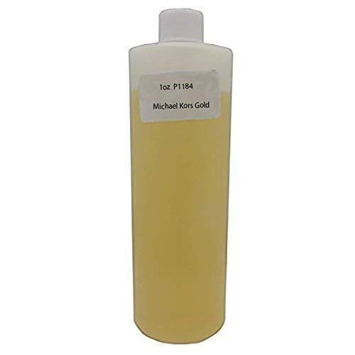 (P1184 Orange - Bargz Perfume - Michael Kors Gold Body Oil For Women Scented Fragrance (1 OZ))