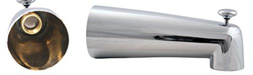 "Westbrass 7"" Diverter Tub Spout, Polished Chrome, E507D-1F-26"