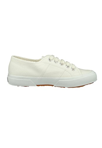Superga Unisex-voksen 2750 Cotu Klassiske Sneaker Hvid (hvid Avorio) IQFKZe