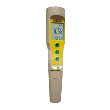 Wasserdichte Tester Aquarium Wasserqualit/ät PH Tester Display Digitale PH Meter Handheld Professionelle PH Wasserqualit/ät
