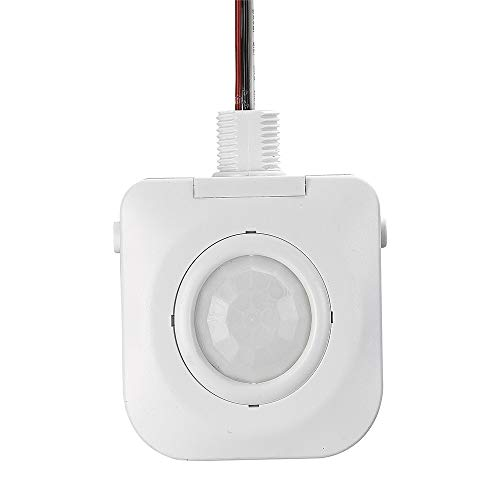 ECOELER UL Listed High Bay Fixture Mount 360 Degree Occupancy Sensor,120-277VAC,Time Settings,Adjustable Features,Commercial Grade Sensor