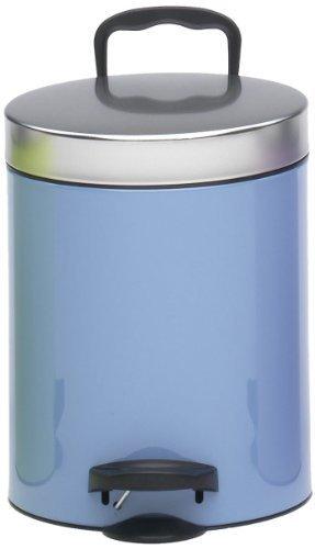 Kosmetikeimer 5l, azzuro/silver by meliconi
