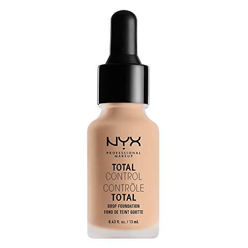 NYX PROFESSIONAL MAKEUP Total Control Drop Foundation, Vanilla, 0.43 Fluid Ounce - Liquid Vanilla Foundation