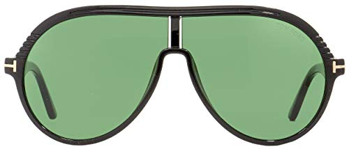MONTGOMERY homme Tom Soleil de GREEN BLACK 02 Lunettes 0647 Ford FT wZA4aI