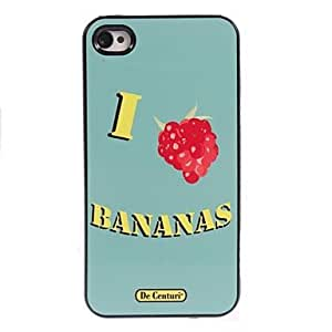 SOL Bananas Design Aluminum Hard Case for iPhone 4/4S