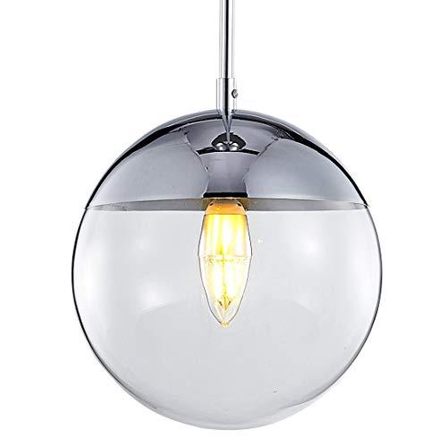 Chrome Industrial Pendant Light in US - 5