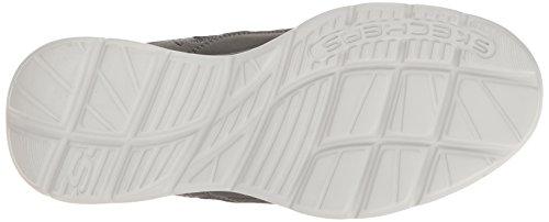 Skechers USA Glides Uomo Kenton Slip-on Loafer, Grigio