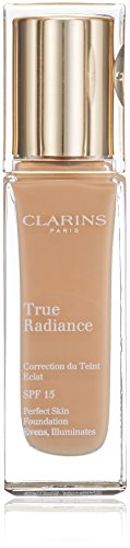 Clarins True Radiance Foundation SPF15 - #112 Amber 30ml/1.1oz Clarins Soft Foundation