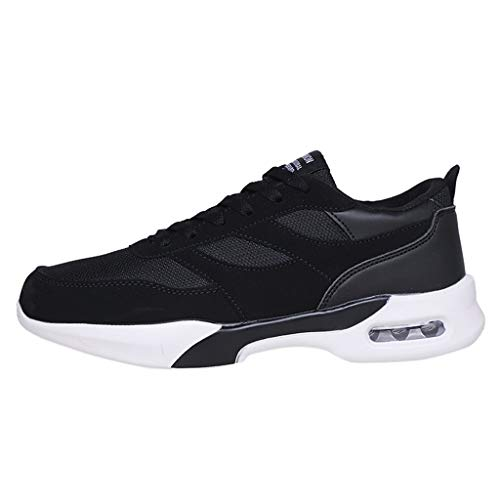 - JJLIKER Mens Air Cushion Sneakers Fashion Running Shoes Mesh Lightweight Athletic Tennis Sport Shoes for Summer
