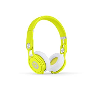 Beats Mixr Wired On-Ear Headphone - Neon Yellow (Discontinued by Manufacturer)