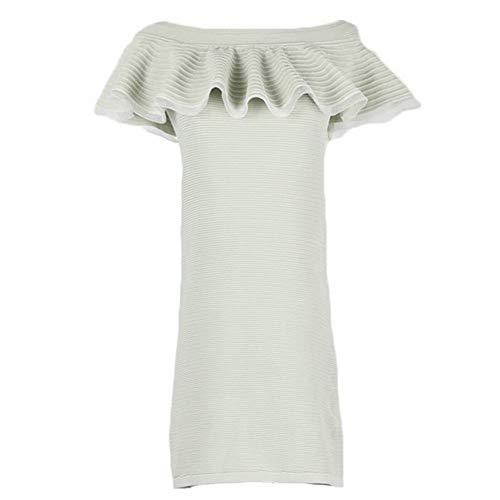 Tyery De Cadera Las Del Atractiva Moda Metro Punto Bolso Manera Mujeres Blanco Vestido La TZxrXZ5w4q