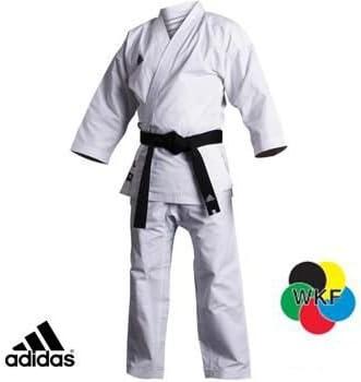 Amazon.com: adidas WKF Grandmaster traje de Karate Gi ...