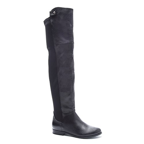 Chinese Laundry Women's Robin Winter Boot, Black Leather,  7.5 M US