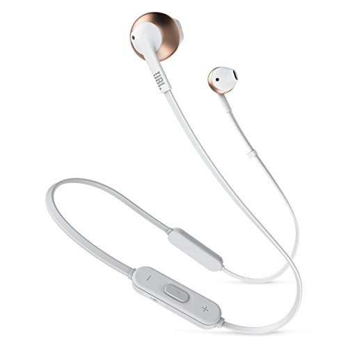 JBL T205BT Wireless in-Ear Headphones with Three-Button Remo