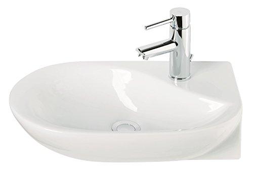 Handwaschbecken DroPino | 50 Cm | Weiß | Waschtisch | Gäste WC: Amazon.de:  Baumarkt