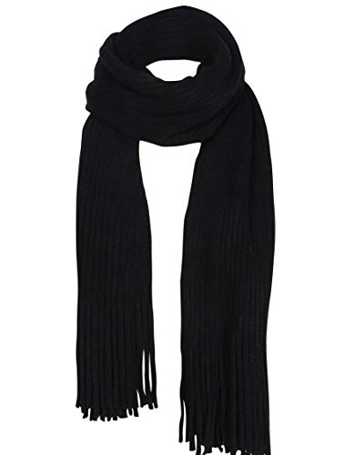 Women Men Winter Thick Cable Knit Wrap Chunky Warm Scarf All Colors Fringe - Winter Scarf Long Fashion