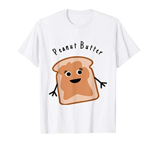 Peanut Butter Matching Halloween Costume Jelly DIY Shirt T-Shirt -