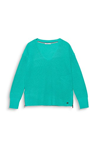 Esprit Femme by Pull Turquoise edc Bleu qx5Banw5F