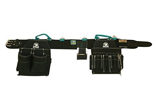 Contractor Pro Professional Electrician's Complete Package Plus+ (Tool Belt, Bucket Tote, Suspenders, and Gloves) 3XL 50-55 Inch Waist for Electricians, HVAC, Carpenters, Drywallers by Contractor Pro (Image #1)