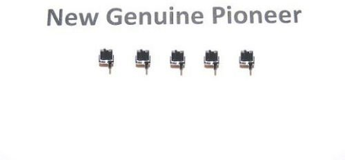 5x (Pieces) New Pioneer Home Push Switch DSG1016 For models PD-Z84M PD-Z970M XC-L7 XC-P410M XD-J120 XD-J225M X-P360S XR-A700 XR-A800 XR-J130 XR-J22 by PIONEER_SERVICE_PARTS