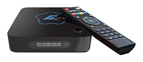 GoStreamer G5+ Quad Core 4K Ultra HD Wi-Fi Android TV Box Kodi Media Player