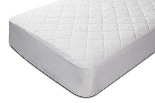 Pikolin Home - Protector de colchón acolchado cubre colchón de fibra, impermeable, antiácaros, 105 x 190/200 cm, cama 105 (Todas las medidas): Amazon.es: ...