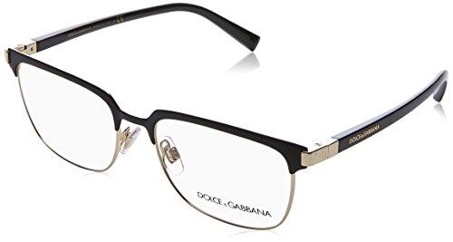 (Eyeglasses Dolce & Gabbana DG 1302 1106 MATTE BLACK/PALE GOLD)