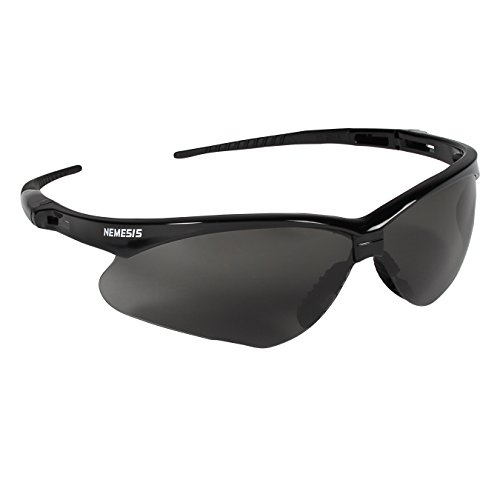 Jackson Safety V30 Nemesis Safety Glasses (22475), Smoke Anti-Fog Lens with Black Frame, 12 Pairs / - Can Vision Loss Sunglasses Cause