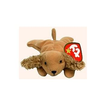 4eaebc2454e TY Teenie Beanie Babies Spunky the Cocker Spaniel Dog Plush Toy Stuffed  Animal