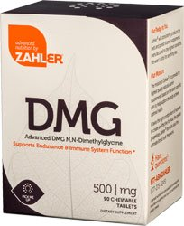 UPC 848998080938, Zahlers Kosher Advanced DMG 500 mg. - 90 Chewable