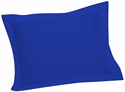 Crescent Tailored Comfy Easy Care Pillow Sham Standard (Royal)
