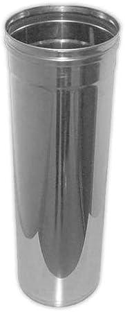 DOJA Industrial | Tubo DINAK diámetro 80 mm M/H L430 | DINAK Para pellet y biomasa (Inox 316L)
