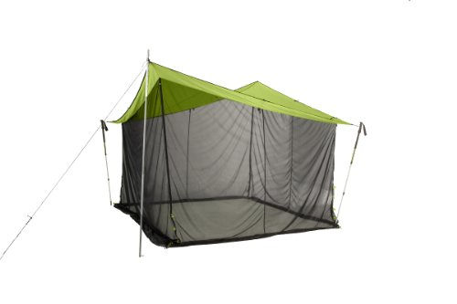Nemo Equipment Bugout Tent (Green/Black, 9 x 9-Feet)